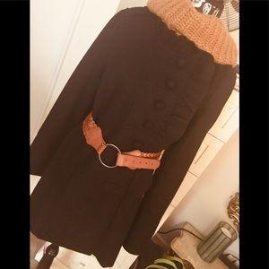 Lux wool blend coat/jacket